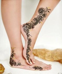 Latest Henna Tattoo Designs for Girls
