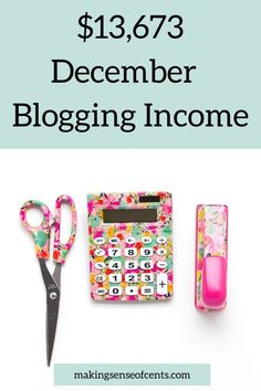 $13,673 December Income – My Monthly Online Income Report and Annual Wrap Up Make Money Blogging, Make Money From Home, Money Saving Tips, How To Make Money, Money Change, Best Online Jobs, Make Blog, Online Income, Extra Money