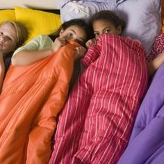 Keep teens busy at a sleepover party with entertaining games.
