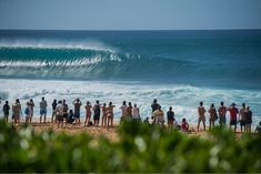 Pipeline on the North Shore of Oahu, Hawaii. Photo by Maria Fernanda Hawaii Travel, Oahu Hawaii, Big Wave Surfing, Surfing Photos, Galapagos Islands, Big Waves, Tahiti, Beautiful Pictures, Around The Worlds