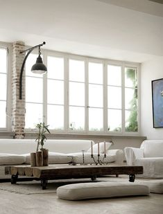 As modern-looking as I think I'd ever get. Love the simplicity of the white with industrial accents.