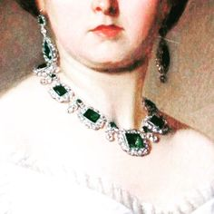#QueenVictoria and her #Emerald #Jewelry