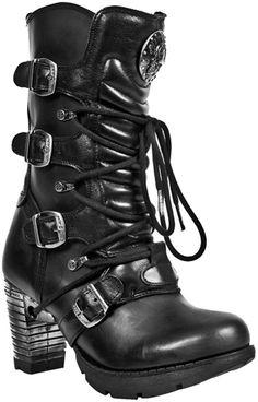 Bottes Femme NEW ROCK - Trail - Chaussures - RockAGogo.com #Gothique #Steampunk