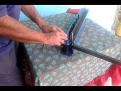 Dobladora de Cabillas para hacer estribos(zunchos) - YouTube