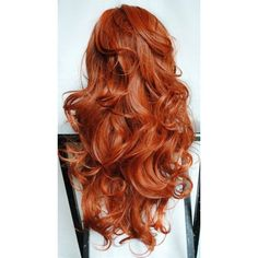 Gorgeous curly red hair Beauty and fashion ❤ liked on Polyvore featuring beauty products, haircare, hair styling tools, hair, hairstyles, beauty, hair styles and curly hair care