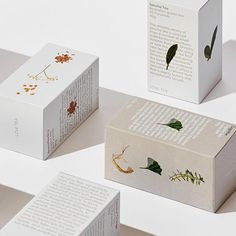 Floral packaging design in neutral colors. Tea packaging with botanical illustrations and a simplistic and modern design. Floral packaging design in neutral colors. Tea packaging with botanical illustrations and a simplistic and modern design. Packaging Box Design, Flower Packaging, Tea Packaging, Print Packaging, Label Design, Package Design Box, Design Design, Organic Packaging, Simple Packaging