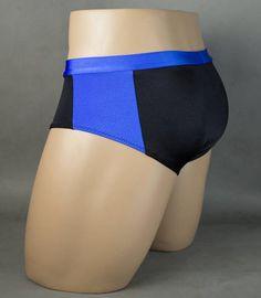 Wet Look Side Stripe Banded Waist Mens Swimwear Brief Speedo – Underwear Designs Custom Swimsuits, Sexy Gay Men, Swimming Outfit, Tactical Pants, Leggings, Wet Look, Skinny, Mens Clothing Styles, Moda Masculina