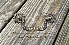 French Country Dresser Pulls Victorian by MagicalBeansHome on Etsy