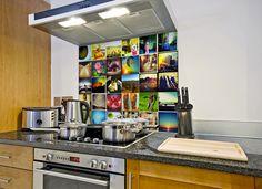 #Kitchenwall Je leukste #foto op je #keukenwand Foto's vanuit je favoriete #App als spatwand/op je #keukenwand of je leukste foto op je eigen #kitchenwall. Meer informatie over #keukentrends? http://www.wonenwonen.nl/keukentrends/kitchenwall/7353