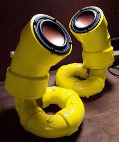 Speakers PVC steampunk