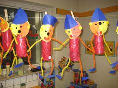 lampion pompom Pinocchio, Children, Kids, Fairy Tales, Preschool, Diy Crafts, Cardboard Tubes, Upcycling, School