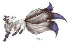 blue fox by Liedeke on DeviantArt