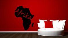 Wandtattoo Afrika 02 - by TM Wandtattoos