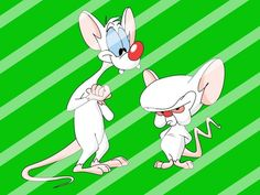 Pinky and the Brain Edible Cake Topper Frosting 1/4 Sheet Image #20
