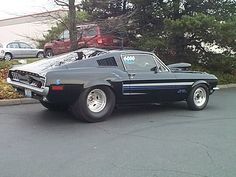 Mustang pro street