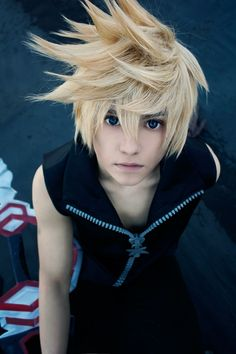 Kingdom Hearts 358/2 days Roxas Cosplay by Roxas1832.deviantart.com on @DeviantArt