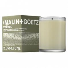 MALIN & GOETZ - VETIVER VOTIVE CANDLE - $14