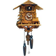 Alexander Taron Importer 437QM Battery Operated Black Forest Cuckoo Clock ** This is an Amazon Affiliate link. Visit the image link more details.