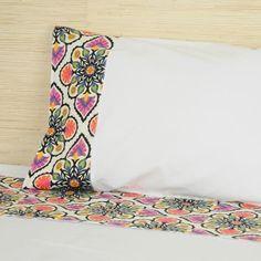Jogo de lençol para cama de casal barra - Westwing.com.br - Tudo para uma casa com estilo