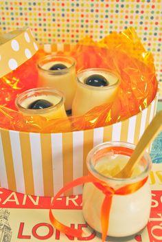 Pannacotta con gelatina de azúcar moscavado, por For the Cakes