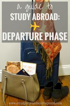 You're on your way to study abroad!  But are you ready for everything?  Study Abroad Guide: Departure Phase | Study Abroad and Beyond