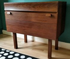 1960's Mid Century Danish Style Graduated Chest by UtopiaGallery
