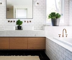 Bathroom a bit on the small side? Here are some reno tips and tricks to get the most out of your space.