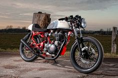 Royal Enfield Cafe Racer by T-Factorbikes