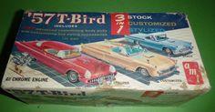 Junkyard AMT 1957 Thunderbird Model Car Mountain 1 25 | eBay