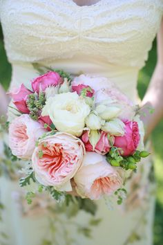 Pink-and-Peach-Bouquet  i love this color combo