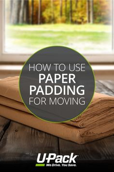 Paper padding is a versatile moving supply that helps protect items. See how to use it.