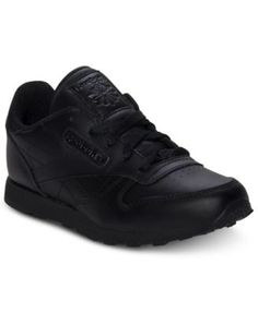 Reebok Boys  Classic Leather Casual Sneakers from Finish Line Kids - Finish  Line Athletic Shoes - Macy s 549681db0