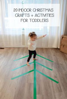 20 Christmas Crafts And Activities For Toddlers 20 Christmas Crafts And Activities For Toddlers Christmas Activities For Toddlers, Activities For 1 Year Olds, Crafts For 2 Year Olds, Preschool Christmas, Indoor Activities, Holiday Activities, Christmas Crafts For Kids, Infant Activities, Family Crafts