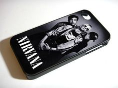 Nirvana Rock Band Cover iPhone 5S 5 4S 4 Samsung Galaxy Note 3 S4 S3 Mini Case