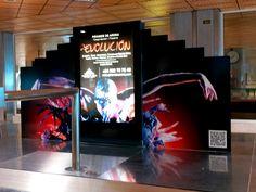 Soportes estáticos en los aeropuertos de Canarias