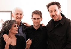 Edward Snowden meets Arundhati Roy and John Cusack: 'He was small and lithe, like a house cat'