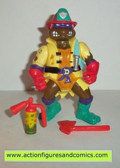 to BUY NOW 1988 FOOT SOLDIER vintage Playmates teenage mutant ninja turtles toy action figure tmnt complete for sale in online toy store for purchase.