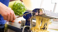 Stuff We Love: Pasta Made With an Imperia Pasta Machine.