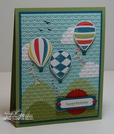 UP, Up & Away stamping-ideas