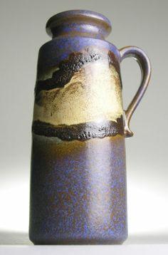 Scheurich 401 West German Pottery Ceramic Modernist 20 Mid Century Vintage Retro