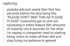 See this is funny because all the viners are out of jobs now