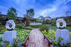 Wanda Vista Hefei   Hefei, China   WCPRI & IMG3 #hotel #landscapearchitecture #china #lake #chinamodern
