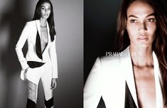 Joan Smalls is photographed by Daniel Jackson for Prabal Gurung Spring/Summer 2015 Campaign.