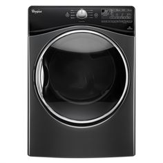 Whirlpool 7.4-cu ft Stackable Gas Dryer Steam Cycle (Black Diamond)