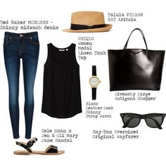 Switch the watch for a silicone chew bracelet, the purse for my Timi & Leslie diaper bag and that's perfect summer look!
