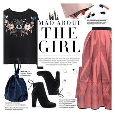"""""""mad about the girl"""" by punnky ❤ liked on Polyvore featuring TIBI, Bobbi Brown Cosmetics, Kershaw, Haute Hippie and Iosselliani"""