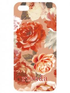 rienda Case for iPhone5ケース Rose(BEG)(iPhone5/WH