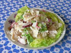 Lahůdkový těstovinový salát