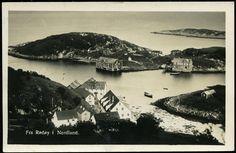 Rødøy i Nordland fylke. Rødøy er en kommune på Helgeland i Nordland. Kommunen omfatter den nordvestligste delen av Helgelandskysten, og grenser i nord mot landskapet Salten. Rødøy herred ble opprettet 1. januar 1838.