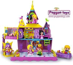 Palace Pinypon with 2 figures and pet FAMOSA - Juguetes Puppen Toys